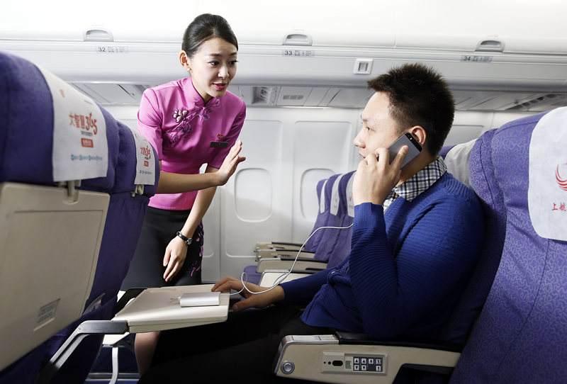 飞机上快能玩手机了