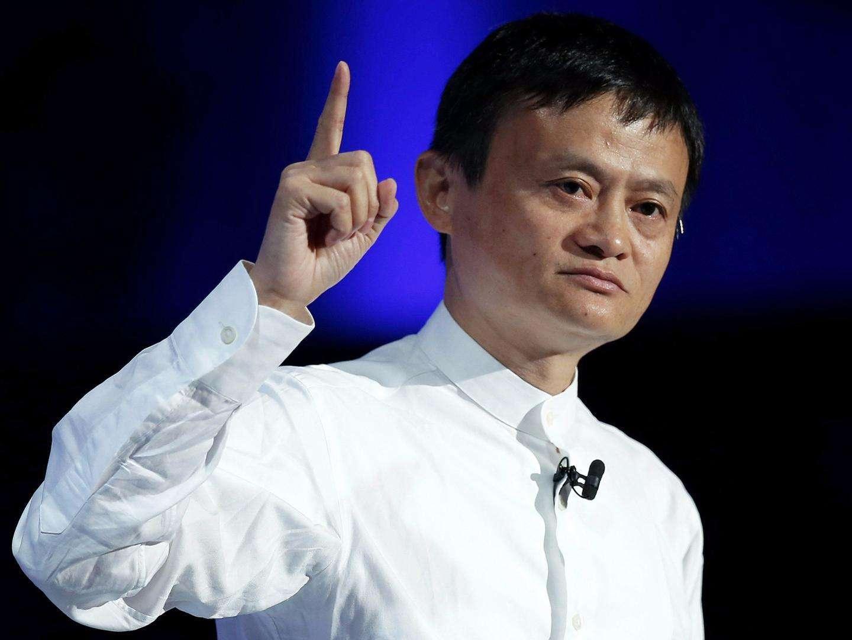 马云:创业需要勤奋 每天最开心的事