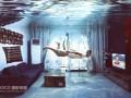 合成水下房间游泳图片效果的PS教程