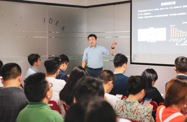 致趣百川的联合创始人刘玺先生