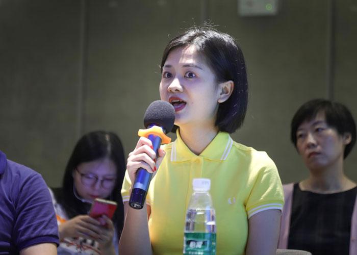 创展谷文娱消费版块负责人罗霞辉女士